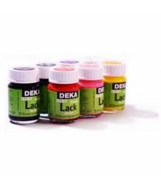 Smalto acrilico Deka Lack 25 ml Giallo