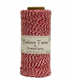 Spago rosso Baker\'s Twine cotone a due capi, 125 m