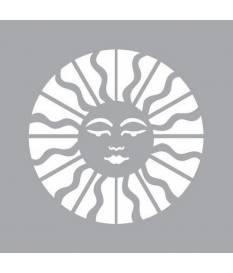 Stencil Americana Decor, Celestial Sun