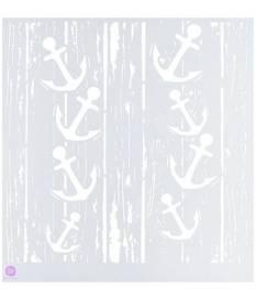 Stencil in plastica Prima Marketing, Ancore