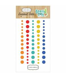 Stickers Beach Day Enamel Dots