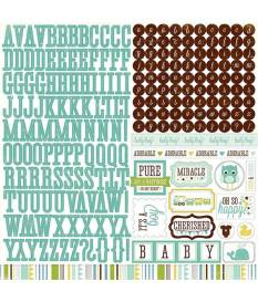 Stickers Bundle of Joy Boy, Alpha