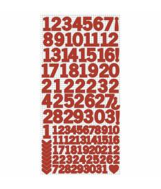 Stickers Kaisercraft, Numbers