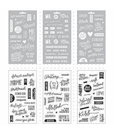 Stickers Me & My Big Ideas, Our Wedding Day