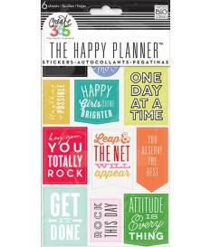 Stickers The Happy Planner, Show up