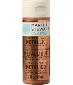 Vernice acrilica Martha Stewart Metallic Rosa rame