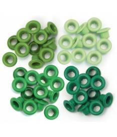 We R Memory Keepers - Occhielli standard, confezione da 60 pezzi, diametro ester...