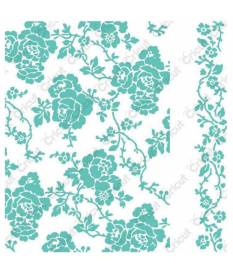 Embossing Folder Cuttlebug, Roses by Anna Griffin