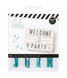50 lettere mini inserts Heidi Swapp Lightbox