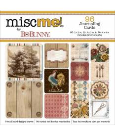 Carte decorative Misc Me Journal Pocket Contents-Provence